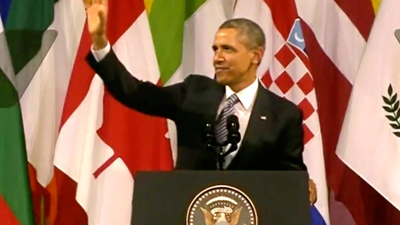 President Obama Speaks To Europe