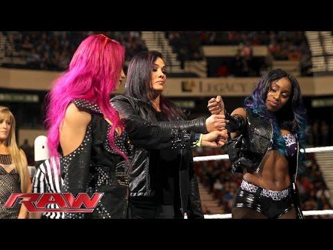 Team B.A.D. professes their unity: Raw, February 1, 2016
