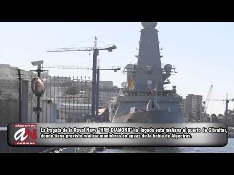 2014 02 02  Fragata A Gibraltar