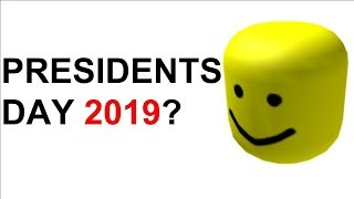 WILL BIGHEAD COMEOUT ON ROBLOX PRESIDENTS DAY SALE 2019