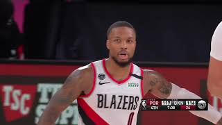 Brooklyn Nets vs Portland Trail Blazers | August 13, 2020