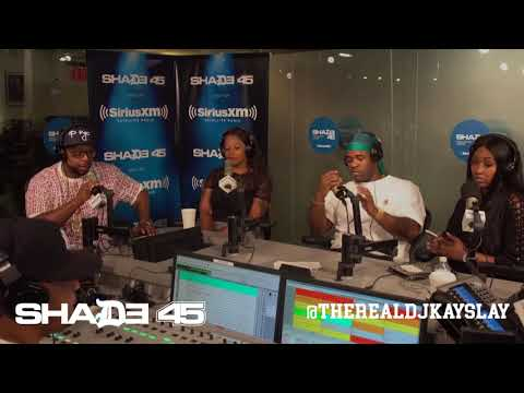 Dj Kayslay interviews Asap Ferg at Shade45 * 8 /16/2017