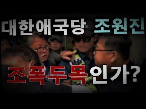 """폭행사주? """"대한애국당 조원진은 조폭두목인가!"""""""