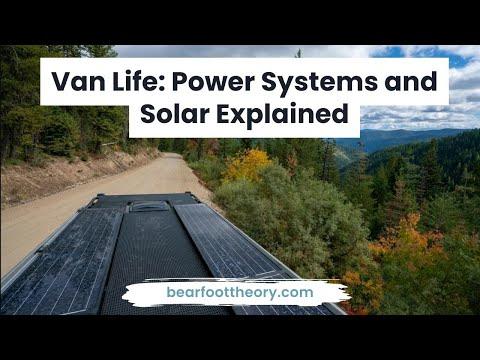 Van Power Systems: Understanding Solar Panels, Batteries and Inverters