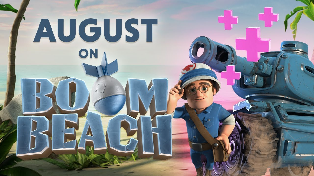 This August on Boom Beach!