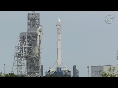 SpaceX postpones rocket launch seconds before takeoff