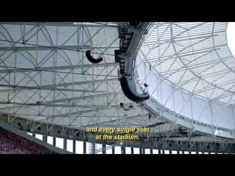 Estádio Nacional de Brasília - Loudness Projetos Especiais