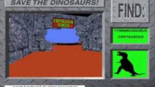 Save the Dinosaurs Wrong Dinosaurs