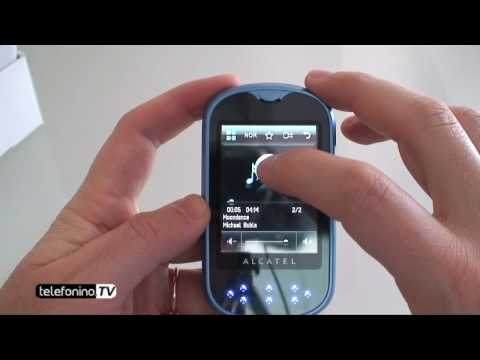 Alcatel OT708 one touch mini videoreview da Telefonino.net