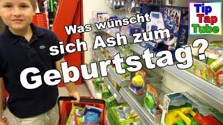 Bei Rossmann Spielzeug aussuchen für Ash's Geburtstags Kiste - Kanal für Kinder - Kinderkanal