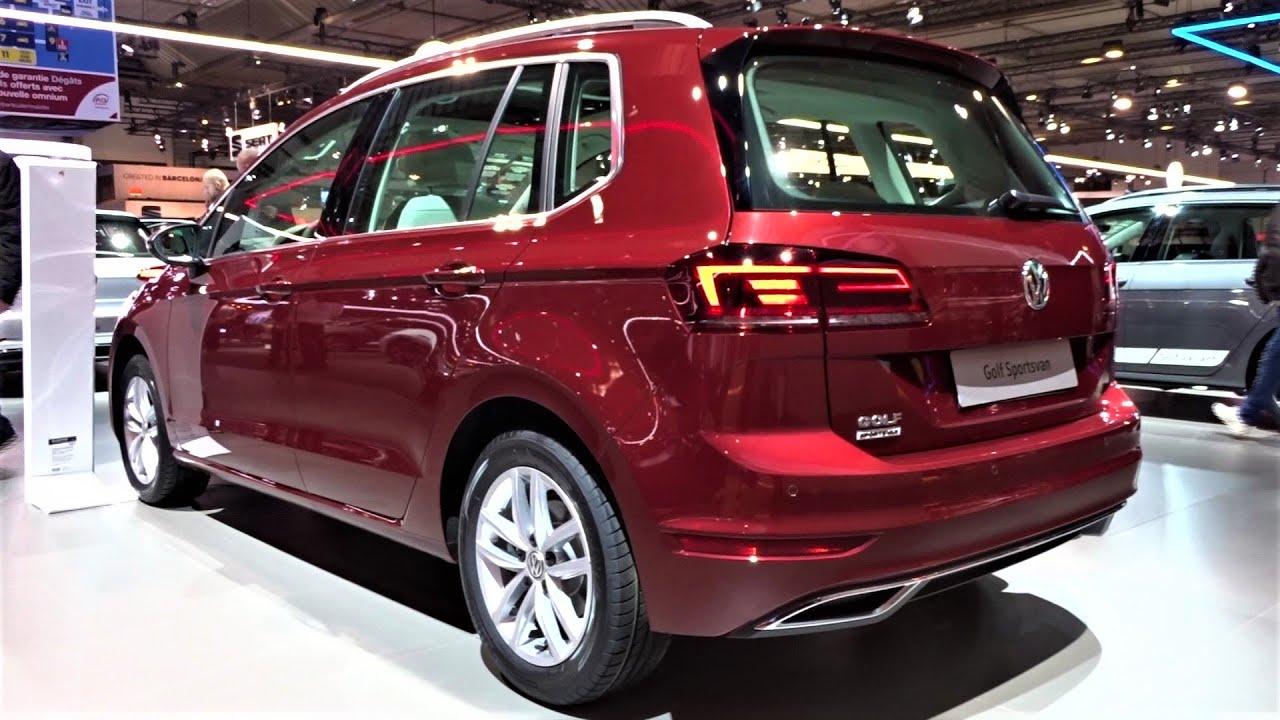 2020 Volkswagen Golf Sportsvan 1 5 Tsi Interior Exterior Walkaround Auto Show Brussel 2020 Youtube
