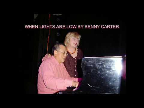 WHEN LIGHTS ARE LOW BY BENNY CARTER. SIMPLICIUS CHEONG WITH SUE GAI DOWLING @UNSW MAY 13, 2005