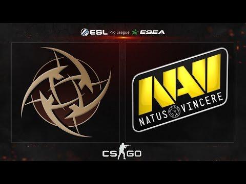 CS:GO - NiP vs. NaVi [Mirage] - ESL ESEA Pro League - Matchday 13