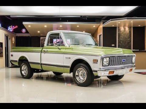 1971 chevrolet pickup for sale youtube 1972 Chevy Truck 1971 chevrolet pickup for sale vanguard motor sales