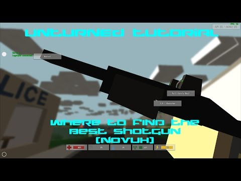 how to get ant weapons on unturned