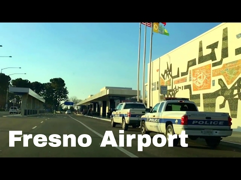 🔴 9 Minutes Fresno (FAT) California Airport Driving Directions 🔴