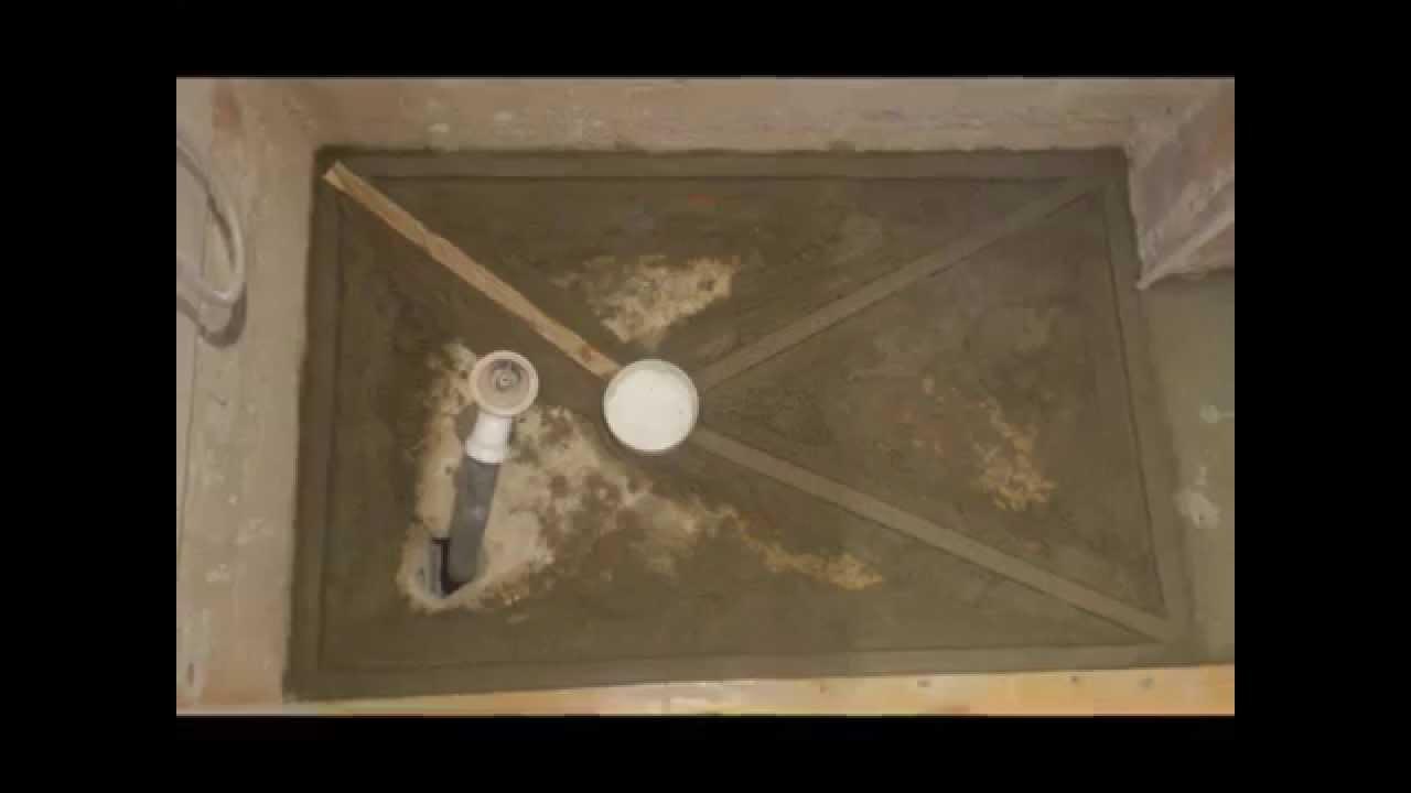 Sustitución plato de ducha de porcelana por plato de ducha de obra ...