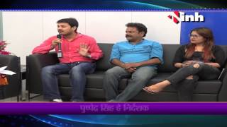 Star cast of chhattisgarh's movie Rang rasiya at INH news rAipur..
