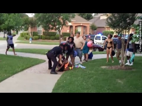 Texas Officer Suspended After Chaotic Pool Party Incident