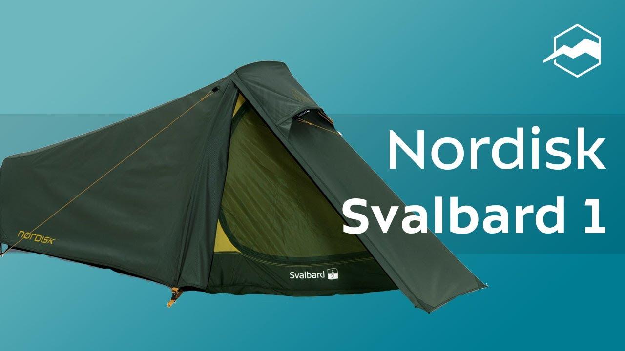 Палатка Nordisk Svalbard 1 SL. Обзор