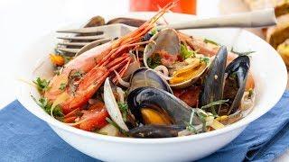 Best Italian Seafood Soup Recipe - Zuppa Di Pesce
