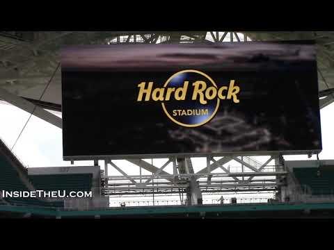 A Look Inside NEW Hard Rock Stadium