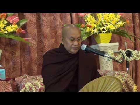 Myout Oo Sayadaw  6 Days Retreat Singapore 20 9 16 Dhamma Talk