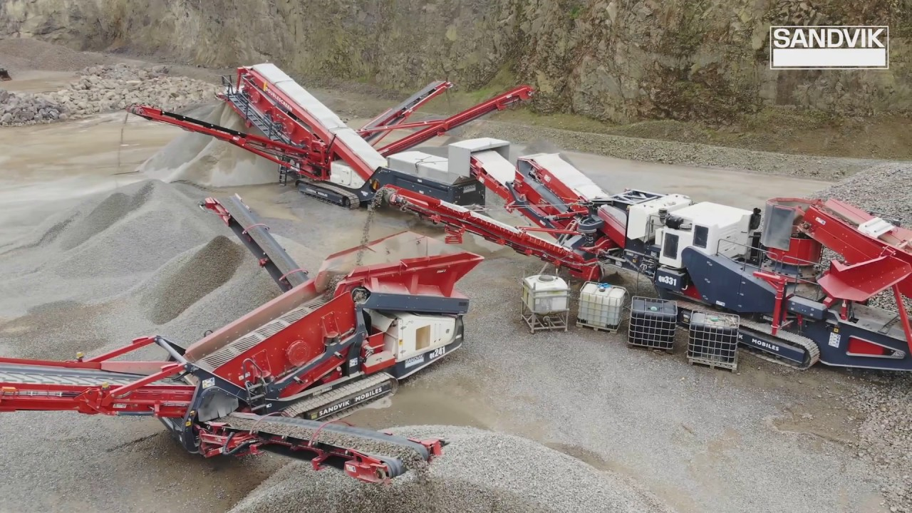 Sandvik Mobile Crushers and Screens play key role for Mason Brothers in Wales