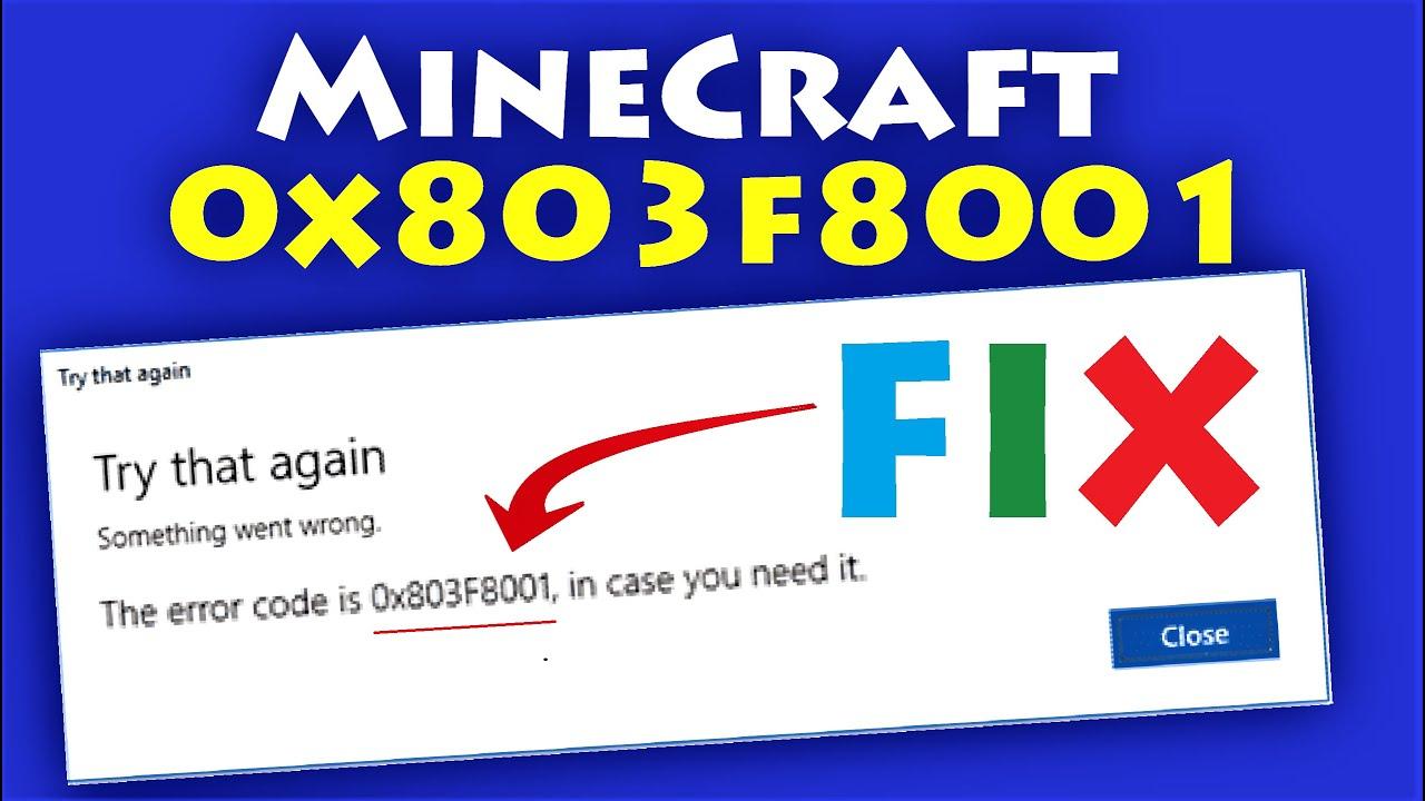 12x8123f812121 Minecraft Error Code 12x8123f812121 How to fix Minecraft  Installation Error on Windows Store