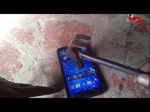 Sony Xperia E4 Crash Test