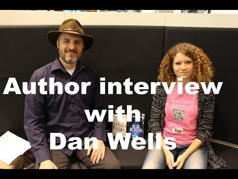 Author interview with Dan Wells [German subtitels]