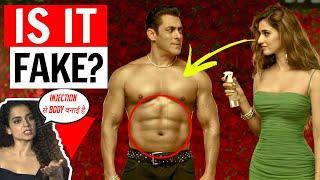 Bollywood Fake  Fitness Exposed   Salman Khan Fake Fitness & Fake Abs