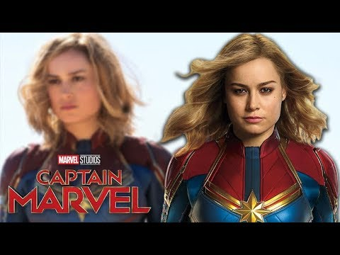 First Look at 'Captain Marvel'