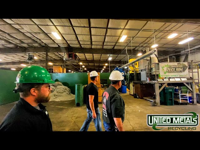 Recycled Idaho - Joe Cheatham tours the yard with Nick & Brett