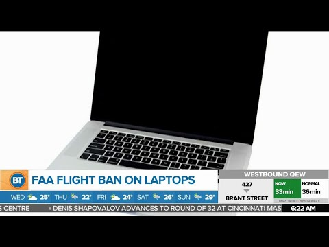 Details On FAA's Flight Ban On Laptops