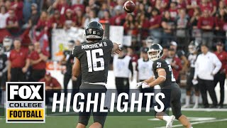 Oregon vs. Washington St | FOX COLLEGE FOOTBALL HIGHLIGHTS