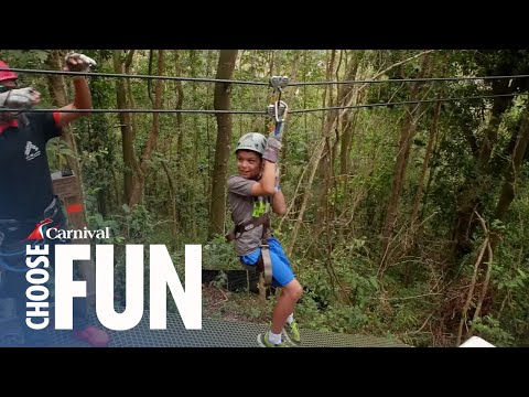 Canopy Adventure in San Juan, Puerto Rico | Carnival Shore Excursions