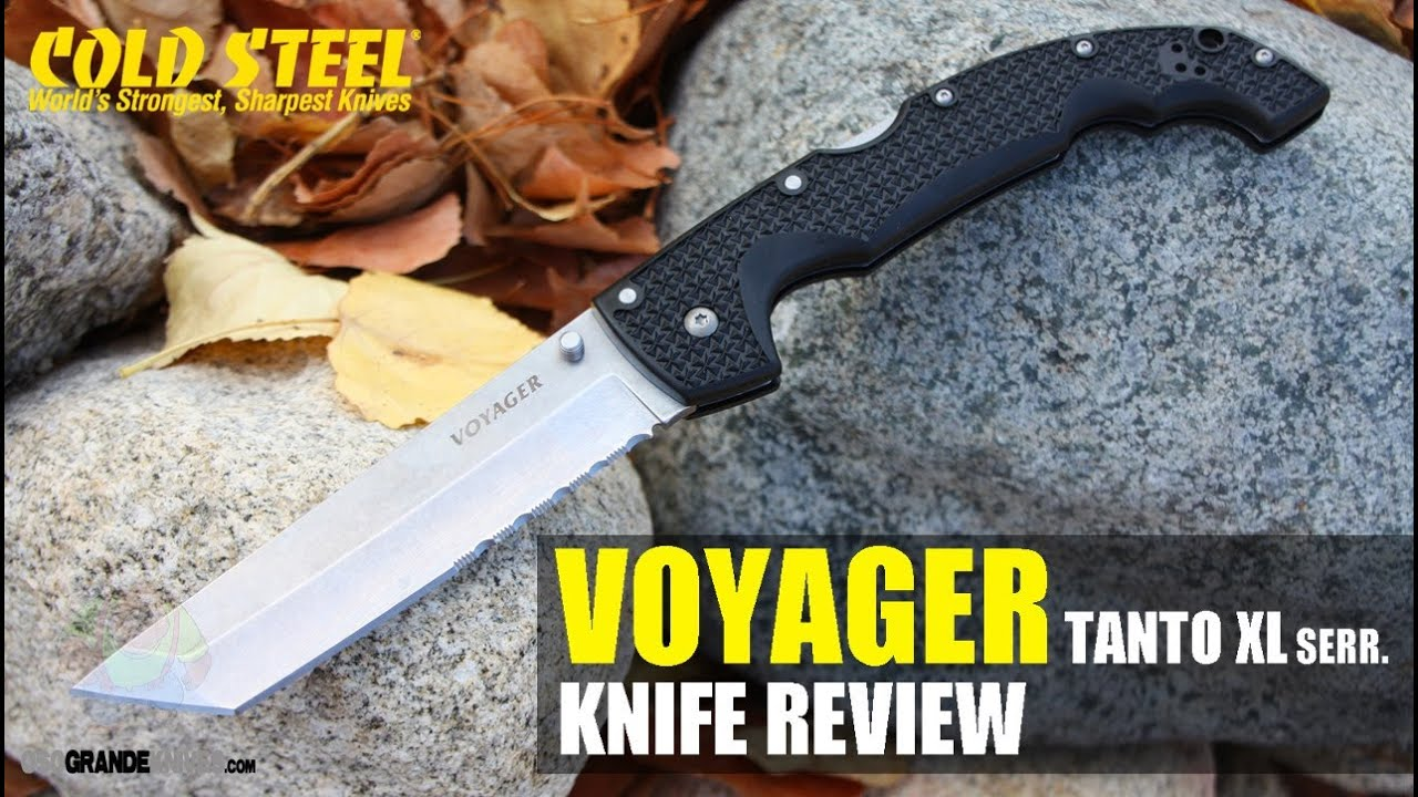 Cold Steel Voyager Tanto Point Xl 29txth Knife Review