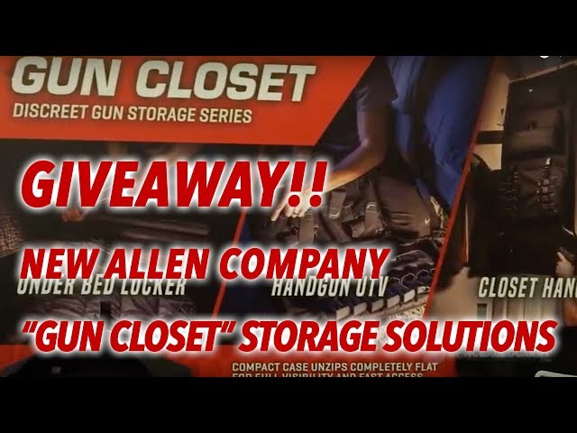 "Allen Company Introduces the ""Gun Closet"" Line + GIVEAWAY!! – SHOT Show 2019"
