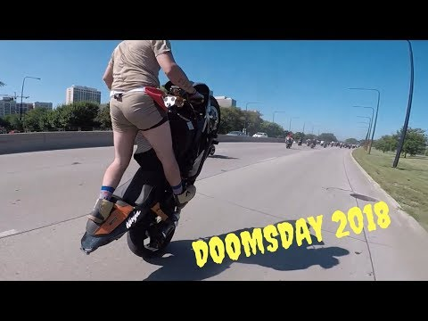 Doomsday 2018 Chicago's BIGGEST Stunt Ride! (GoPro Hero 5)