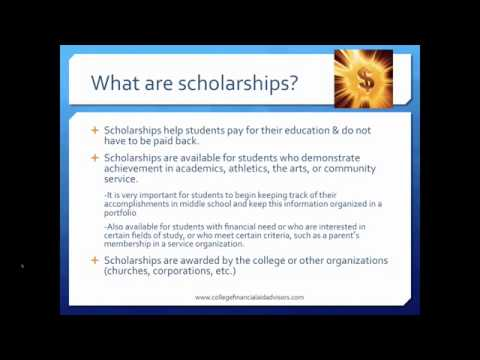 How to Apply for Financial Aid & Scholarships