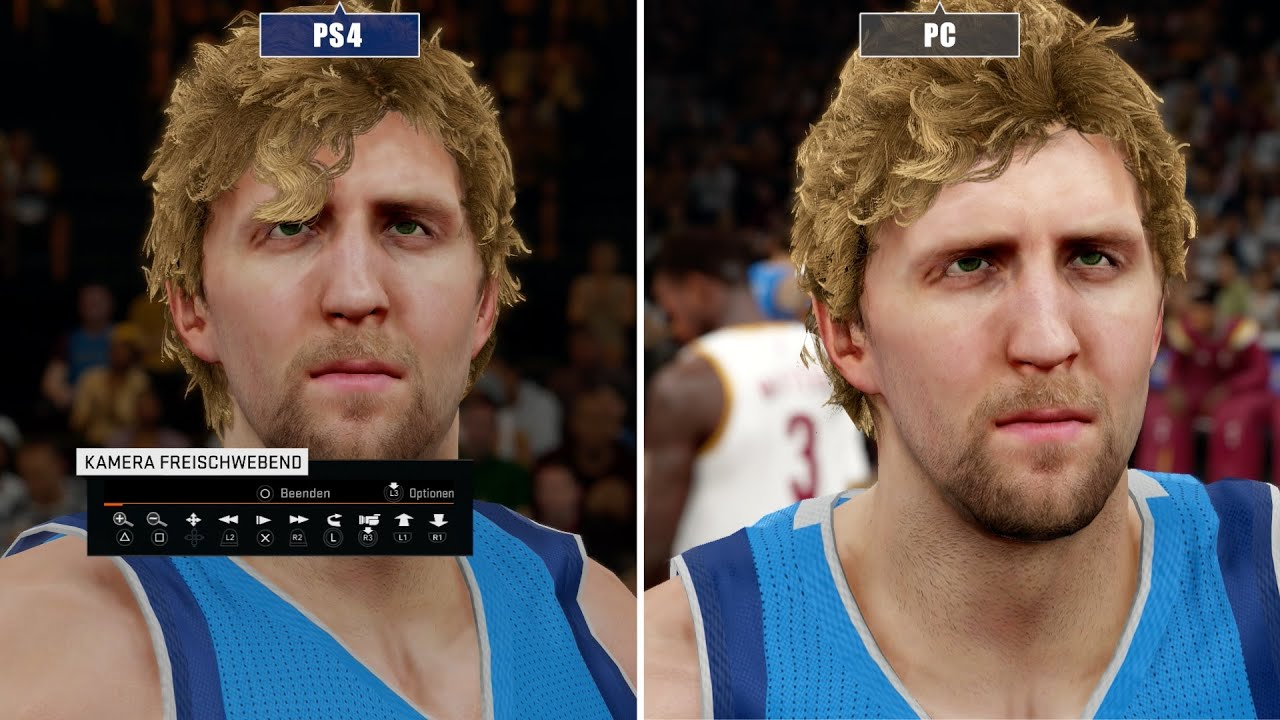 NBA 2K15 | PC versus PS4 - Graphics Comparison - YouTube