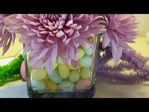 Easter Table Decor: Centerpieces