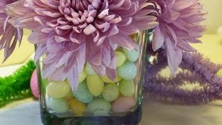 Easter Table Decor: Centerpieces