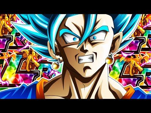 LR VEGITO BLUE IS HERE!!! VEGITO BLUE HYPEEE!!! Dragonball Z Dokkan Battle!
