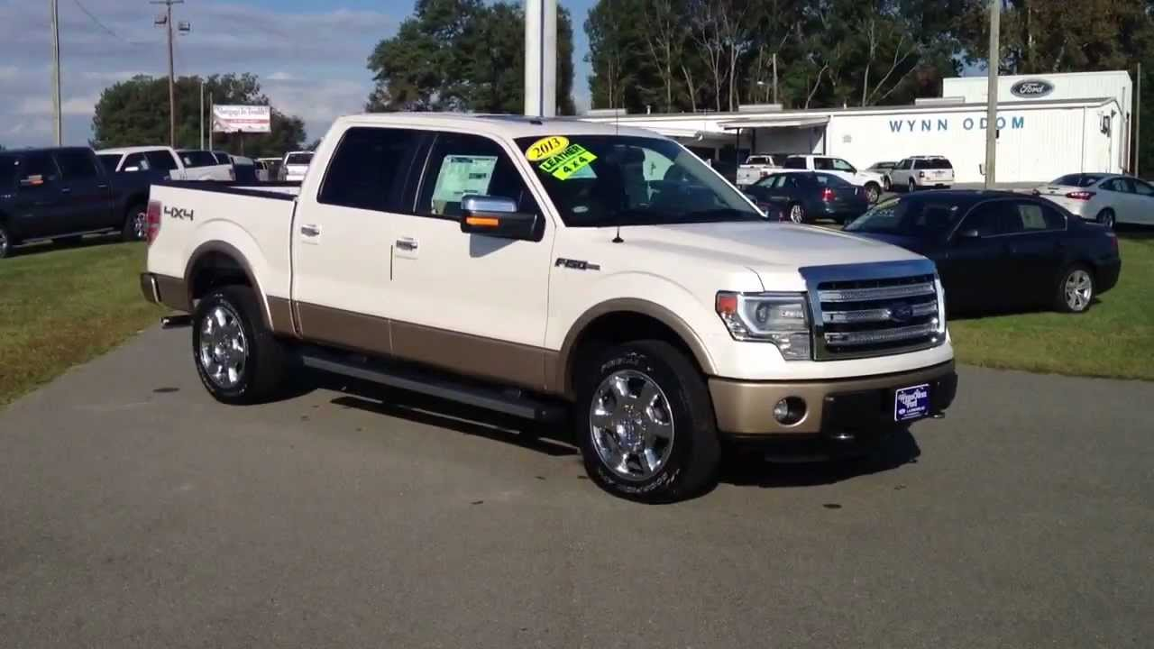 new 2013 ford f 150 lariat white platinum youtube. Black Bedroom Furniture Sets. Home Design Ideas