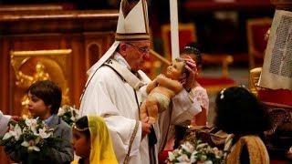 Thánh Lễ Đêm Giáng Sinh tại Tòa Thánh Vatican 24.12.2017 thumbnail