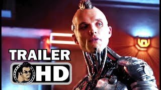 ALITA: BATTLE ANGEL Official Trailer #1 (2018) Robert Rodriguez Sci-Fi Action Movie HD