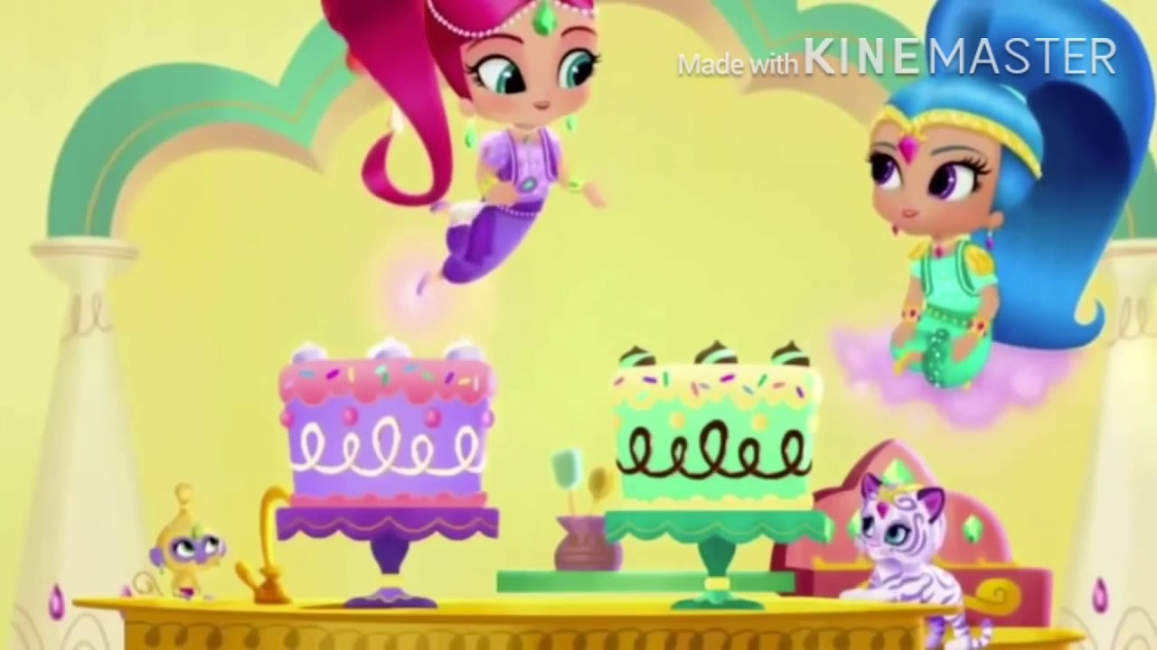 2557fbba5f8cd4 Shimmer and Shine Super Mario Galaxy Game Over - YouTube