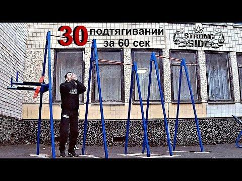 30 ПОДТЯГИВАНИЙ ЗА 60 СЕКУНД CHALLENGE! БРОСЬ СЕБЕ ВЫЗОВ! \ Владислав Кацко